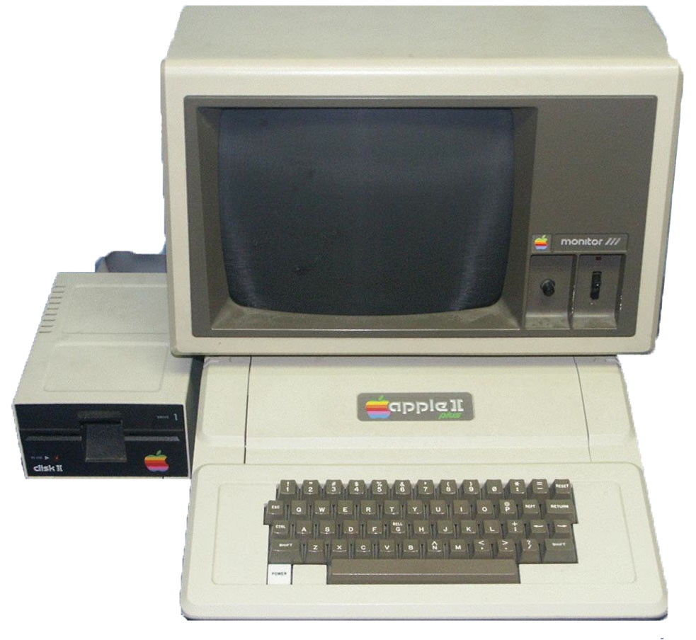 Apple ii plus and monitor photo credit dave dunfield dave s