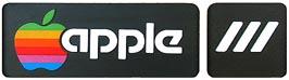 Apple III name plate