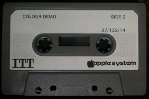 ITT Colour Demo cassette - Photo credit: Philip Lord