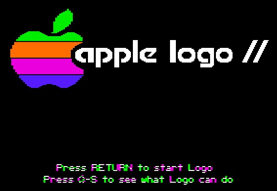 Apple Logo II splash screen