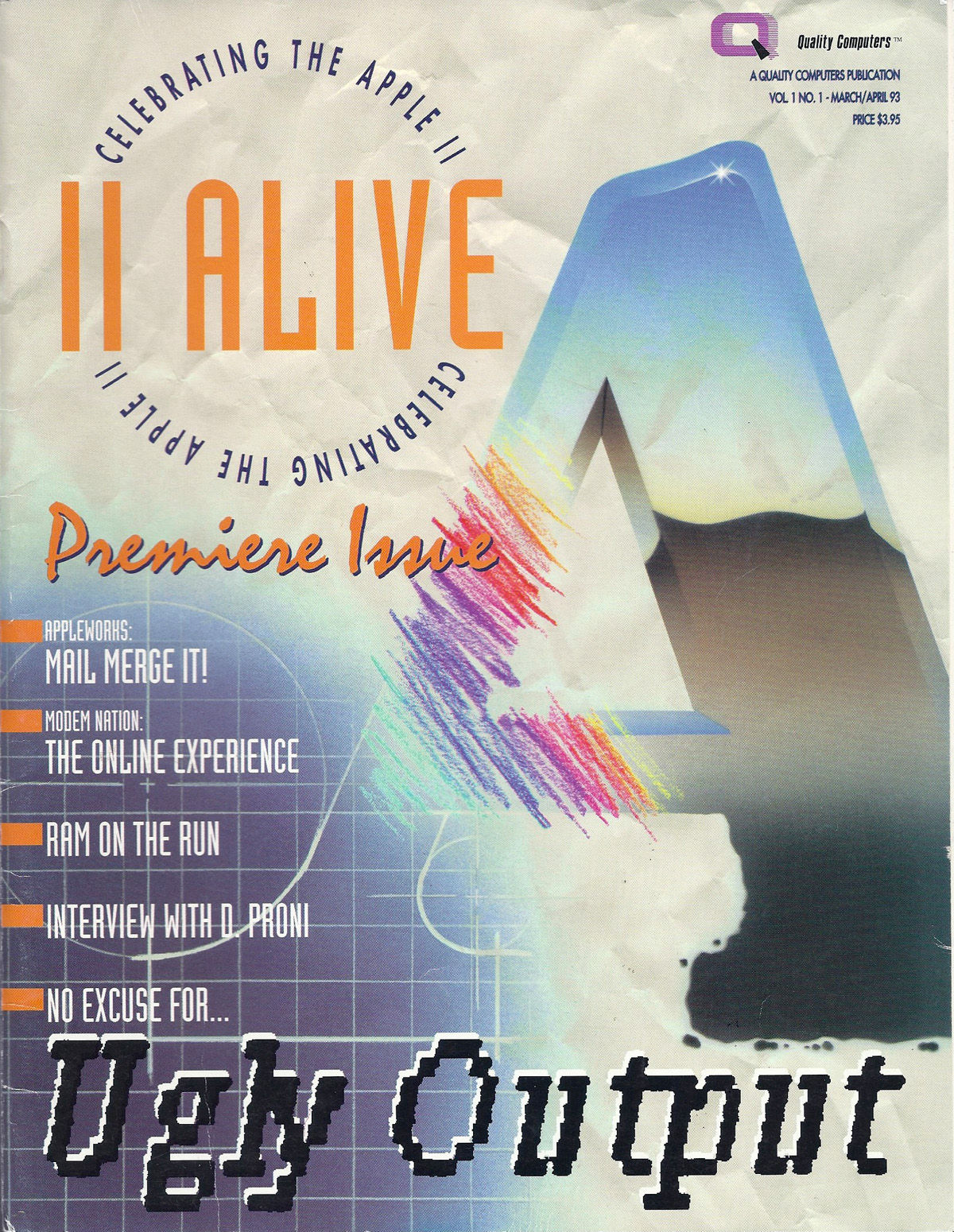II Alive V1N1, Mar 1993