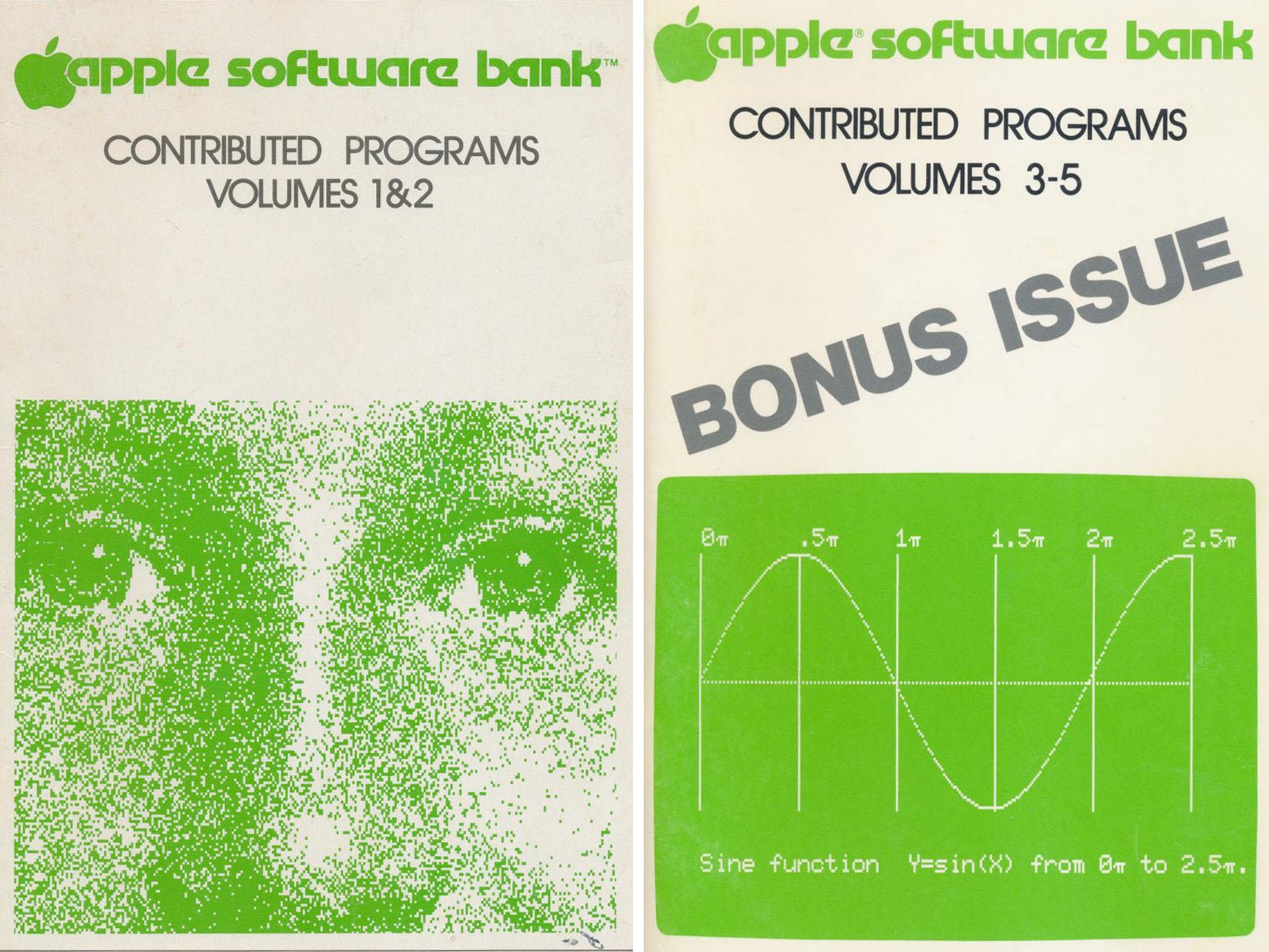 Visicalc Spreadsheet Software Apple software bank, volumes