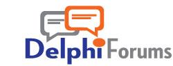 Delphi logo, late 2000s