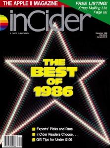inCider, December 1986