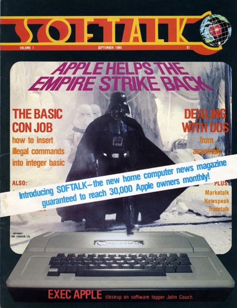 Softalk, Sep 1980 promo flyer