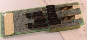 Disk II controller card prototype - Photo courtesy of Lonnie Mimms