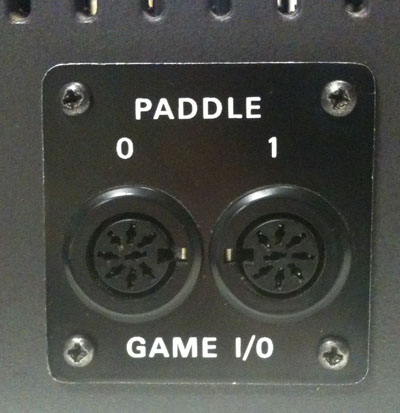 Bell & Howell game paddle socket