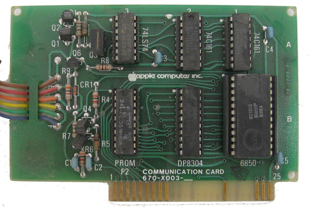 Apple II Communications Card