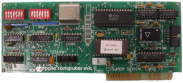 Apple II Super Serial Card