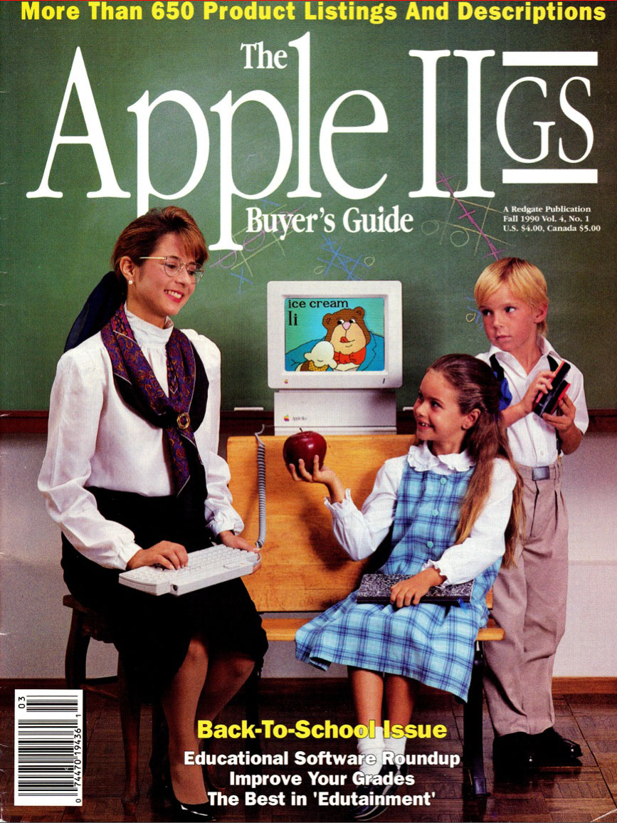 Apple IIGS Buyer's Guide V4N1 Fall 1990 cover