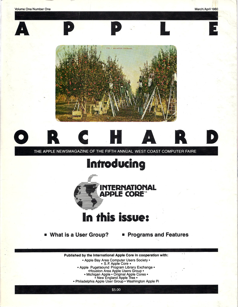Apple Orchard, Vol 1, No. 1, March 1980