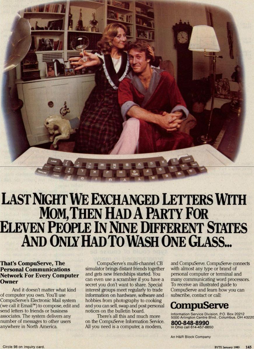 CompuServe ad, Jan 1983