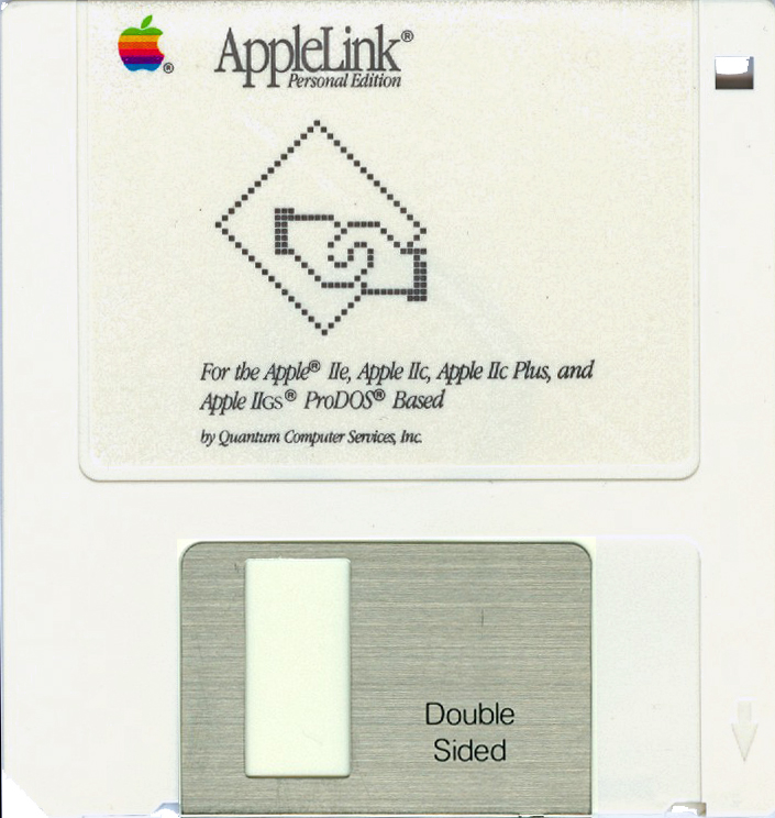 AppleLink Personal Edition program disk