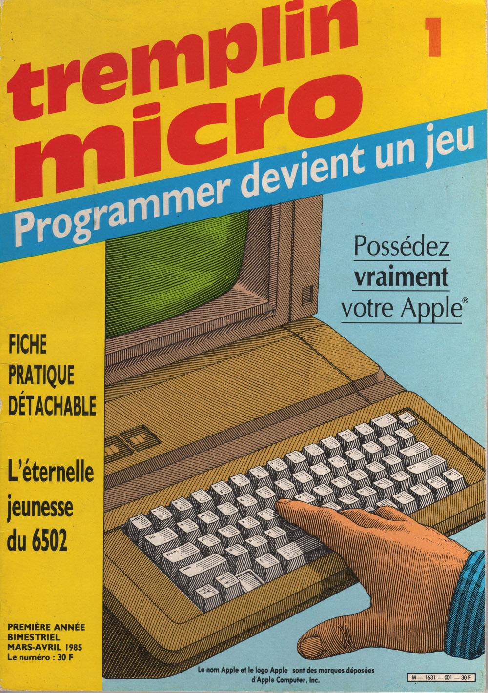 Tremplin Micro, Mar 1985