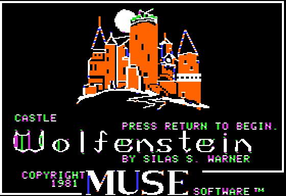 Castle Wolfenstein screenshot
