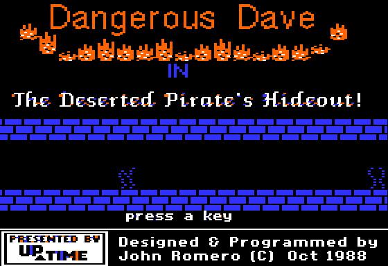 Dangerous Dave screenshot